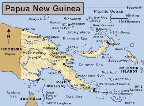 Fakta Lengkap Negara Papua New Guinea