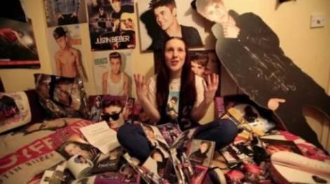 Gadis Ini Terobsesi Justin Bieber Akut, Parah!